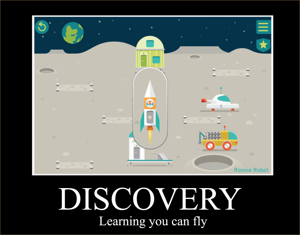 discovery is learning that you can fly